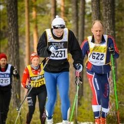 Skiing 90 km - Göran Pettersson (7622), Eirik Skøien (13231)
