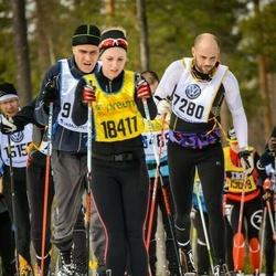Skiing 90 km - Christer Holmqvist (7280)