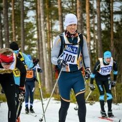 Skiing 90 km - Daniel Green (7100)
