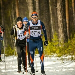 Skiing 90 km - Dennis Frejd (8713)