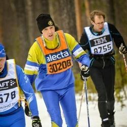 Skiing 90 km - Hjalmar Nordquist (30208)