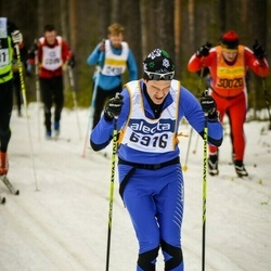 Skiing 90 km - Christian Bjurvald (6916)