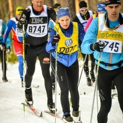 Skiing 90 km - Erik Willén (8747), Jessica Eriksson (17077)