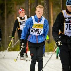 Skiing 90 km - Henrik Larsson (10497)