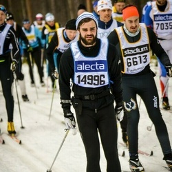 Skiing 90 km - Björn Sjökvist (14996)