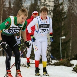 Skiing 90 km - Adam Ekstedt (1071)