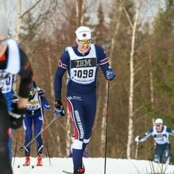 Skiing 90 km - Erik Wikar (1098)