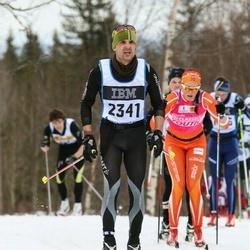 Skiing 90 km - Sebastian Gross (2341)