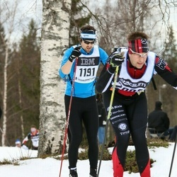Skiing 90 km - Joakim Eriksson (1191)