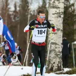 Skiing 90 km - Ian Murray (184)