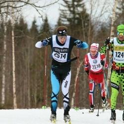 Skiing 90 km - Jörgen Johansson (2514)