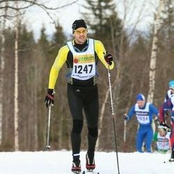 Skiing 90 km - Anders Allard Lindström (1247)