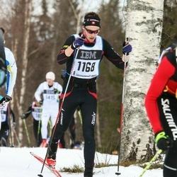 Skiing 90 km - Clyde Engel (1168)