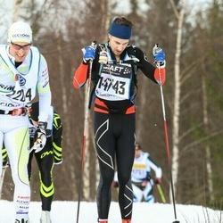 Skiing 90 km - Anders Sandin (14743)
