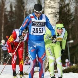 Skiing 90 km - Erik Bondesson (2053)