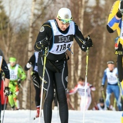 Skiing 90 km - Niklas Zakrisson (1184)