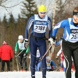 Skiing 90 km - Eivind Lande (2188)