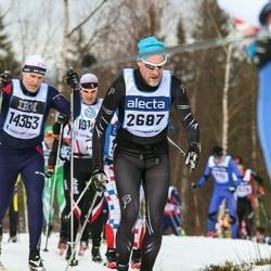 Skiing 90 km - Jörgen Källback (2687)