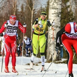Skiing 90 km - Åge Snerting (2004), Martina Chrastkova (18104)