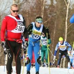 Skiing 90 km - Henrik Johansson (3181), André Back (3247)