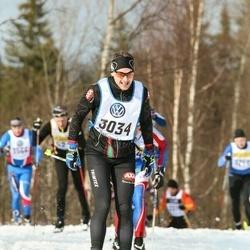 Skiing 90 km - Fredrik Liljesäter (3034)