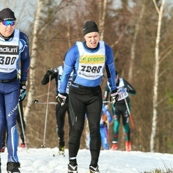 Skiing 90 km - Henrik Bergqvist (3268)