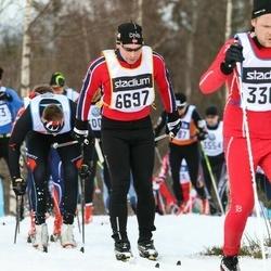 Skiing 90 km - Adrian Suter (6697)
