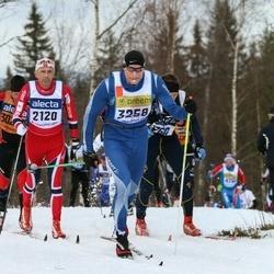 Skiing 90 km - Stein Rønning (2120), Anders Strömnes (3258)
