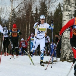 Skiing 90 km - Henrik Lyngmark (12423)