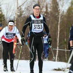 Skiing 90 km - Christian Hellerfelt (3133)