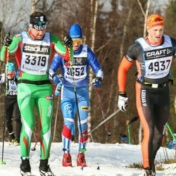 Skiing 90 km - Andreas Bogesten (3319), Anders Ottosson (3652)