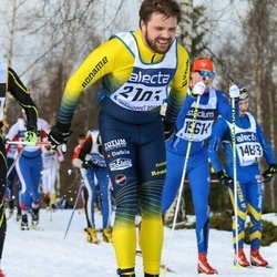 Skiing 90 km - Daniel Westerlund (2103)