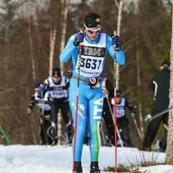 Skiing 90 km - Andrea Cusini (3631)