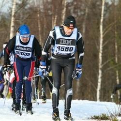 Skiing 90 km - Åke Wilhelmsson (4580)