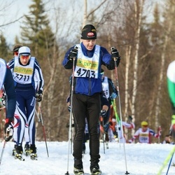 Skiing 90 km - Åke Strömberg (4703)