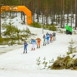Suusatamine 90 km - Stian Hoelgaard (8), Oskar Svärd (9), Peo Svahn (20), Klas Nilsson (39), Simone Bosin (48), Daniel Nordebo (241)