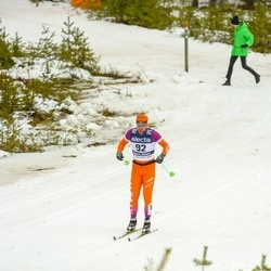 Skiing 90 km - Adam Steen (92)