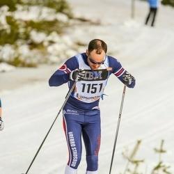 Skiing 90 km - Henrik Eknor (1151)