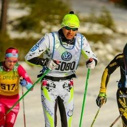 Skiing 90 km - Anders Hammar (5080)