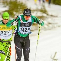 Skiing 90 km - Anders Boström (1429)