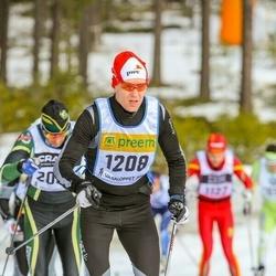 Skiing 90 km - Audun Marken (1208)