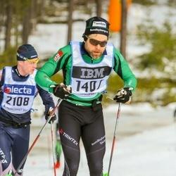 Skiing 90 km - Anders Wånell (1407)