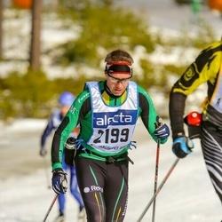 Skiing 90 km - Anders Stenberg (2199)