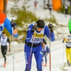 Skiing 90 km - Adam Blomberg (1203)