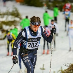 Skiing 90 km - Anders Olsson (2022)