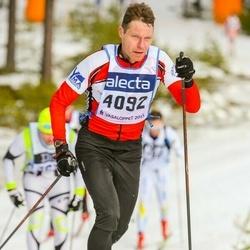 Skiing 90 km - Henrik Andersson (4092)