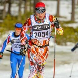 Skiing 90 km - Anders Ersbjörs (2094)