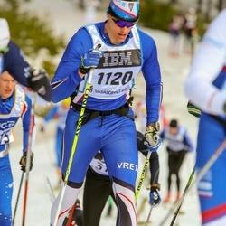 Skiing 90 km - Henrik Jutterdal (1120)