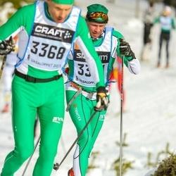 Skiing 90 km - Henrik Zenob (3301)