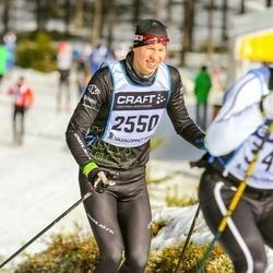 Skiing 90 km - Isak Nilsson (2550)
